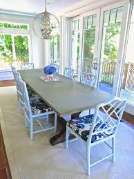 EASY STEPS TO TRANSFORMING DINING ROOM CHAIRS COCOCOZY - Dining room chairs blue