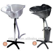 portable shoo basin with bucket hair wash equipment hair salon furniture used salon furniture f