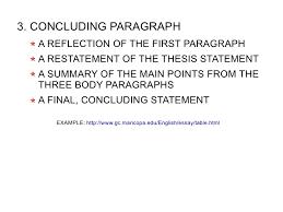 sentence paragraph essay  10