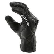 alpinestars celer v2 leather gloves black