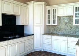 white kitchen cabinets with black appliances beige adorable off23 kitchen