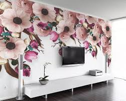 Beibehang 3d Wallpaper Murals American Hand Painted Rose Onetime
