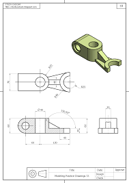 Autocad command used in this tutorial are isometric drafting switch, line, isometric circle, layer, center. Pin On Dibujo Mecanico