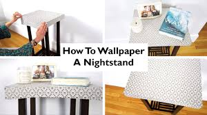how to wallpaper furniture. How To Wallpaper Furniture