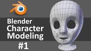 Blender Character Modeling 1 of 10 - YouTube