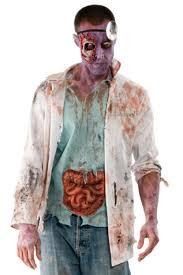 zombie doctor the walking dead costume