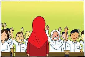 Image result for gambar guru dan murid kartun