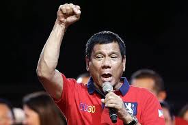 Image result for duterte middle finger