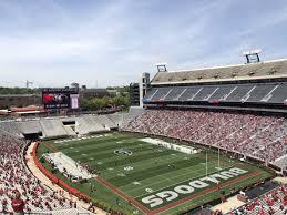 Uga Seating Chart Sanford Stadium Sanford Stadium Section 323 Rateyourseats Com