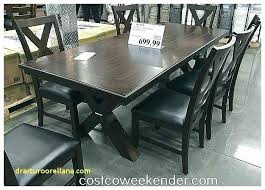 costco dining table set furniture lovely bayside furnishings 9 piece dining set bayside furnishings 9 piece