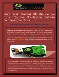 Design Your Own Truck Online For Free Easy Owner Operator Bookkeeping Software For Florida Truck