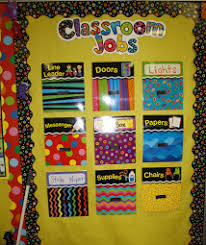 Classroom Monitors Chart Elementary Classroom Classroom Job Chart Printable