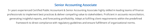 Accounting Firm Resumes Accounting Resume The 2019 Guide With 20 Accounting Resume