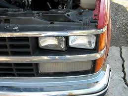 headlight change 88 90 chevy gmc truck youtube 93 K1500 Headlight Wiring Harness Removal headlight change 88 90 chevy gmc truck 1997 GMC Suburban Headlight Wiring Harness