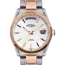 rotary havana mens two tone rose gold plated watch gb02662 06 rotary havana mens two tone rose gold plated watch gb02662 06