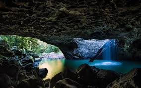 Waterfall Wallpaper Cave Download