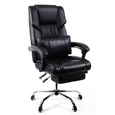 desk chair footrest.  Desk SONGMICS Office Swivel Computer Desk Chair With Footrestheight  AdjustableblackOBG71BUK Intended Footrest U