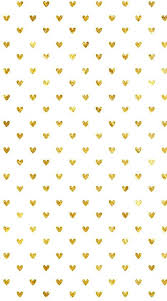 cute white and gold wallpaper