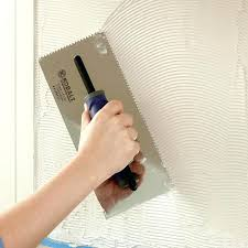 how to install glass wall tile install tile spread tile mastic on kitchen wall installing glass