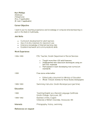Esl Instructor Resume Sample Lovely Preschool Teacher Resume