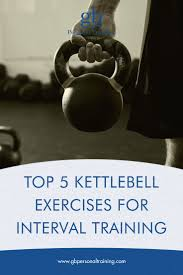 top 5 kettlebell exercises for interval or hiit