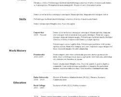 Ms Resume Templates Ms Word Sample Resume Medium Size Of Resume
