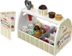 melissa doug wooden ice cream counter