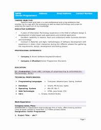 Resume In Word Format Inspirational 32 Resume Templates For Freshers