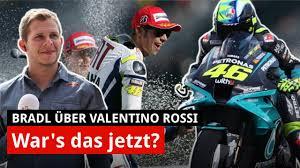 Aug 18, 2021 · motogp, valentino rossi: Valentino Rossi Wie Nahe Ist Er Dem Rucktritt Interview Stefan Bradl Motogp 2021 Youtube