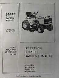 wiring diagram sears gt18 official site wiring diagrams wiring diagram sears gt18 wiring diagramssears 1985 craftsman gt 18 6 lawn garden tractor owner