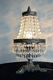chandelier table lamps aged brass table lamp antique french style glass crystal chandelier lighting chandelier table