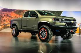2015 chevy colorado zr2. Exellent Zr2 Chevroletu0027s ZR2 Concept Is The DieselPowered OffRoader You Want Inside 2015 Chevy Colorado Zr2 L