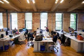 collaborative office space. Working In An Open, Central Space Fosters Spontaneous Collaboration Collaborative Office T