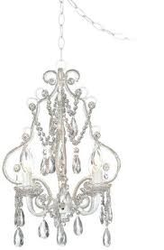 glamorous plug in mini chandelier swag lamps crystal on dining room artistic new authentic all crystal chandeliers