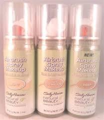 sally hansen natural beauty airbrush spray makeup 1 oz