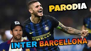 INTER BARCELLONA - Parodia