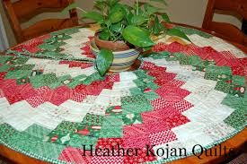 Christmas Tree Skirt Pattern Custom Peppermint Swirl Christmas Tree Skirt Moda Bake Shop