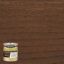 minwax polyshades satin mission oak stain and polyurethane 1 qt at menards