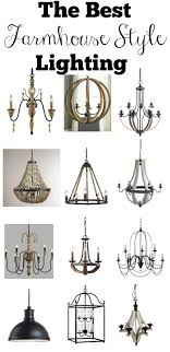 farmhouse style lighting. The Best Farmhouse Style Lighting Inspired By Fixer Upper. These Affordable Light Fixtures Will Add _