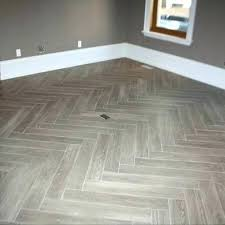 how to install porcelain tile grey herringbone tile floor casual but stunning faux wood porcelain tile