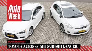 Toyota Auris Hybrid (2012) vs Mitsubishi Lancer (2014 ...