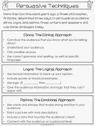 persuasive essay using ethos pathos and logos lesson plan teaching rhetoric ethos logos and pathos professays com