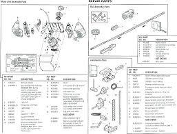chamberlain garage door wiring chamberlain garage door opener manual belt drive models parts diagram power 1