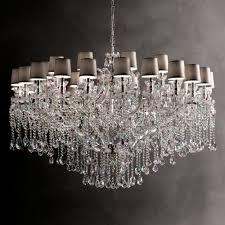 large swarovski crystal chandelier