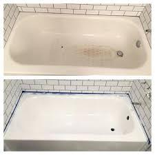 bathtubs bathtub refinishing kit canadian tire details about rust oleum tub tile refinishing kit porcelain