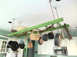 diy hanging pot rack plant holder ideas flower