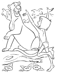 Small Picture Top 93 Jungle Book Coloring Pages Free Coloring Page