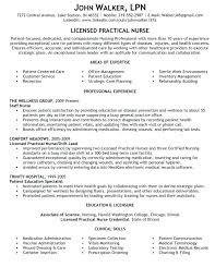 Nursing Professional Resume How To Write A Quality Licensed ...