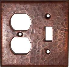 copper outlet covers. Simple Outlet Decorative Outlet Covers  Copper Switch Plate Page 2  Rustic Sinks And