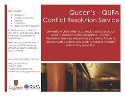 conflict resolution services faculty relations office conflict resolution flyer
